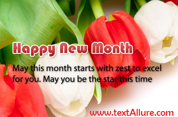 new month sms
