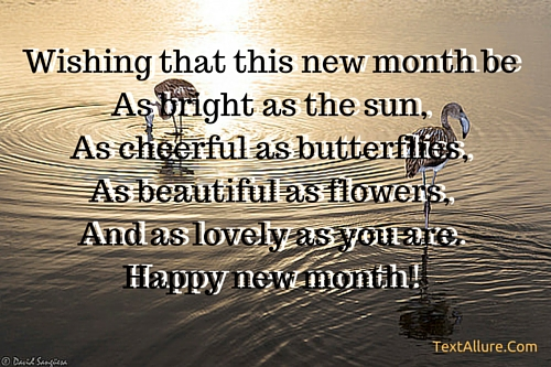 new month sms cool